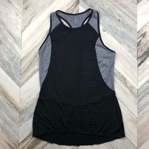 Athleta High Neck Racer Back Athletic Tank Top